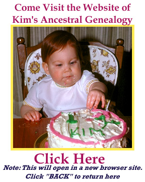 Photo of Kimberly's 1st birthday as link to Genealogy web page